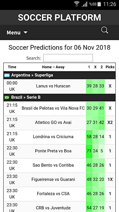 Amazon com: SOCCER PLATFORM: Appstore for Android