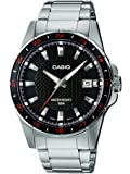Casio Enticer Analog Black Dial Men's Watch - MTP-1290D-1A1VDF (A413)
