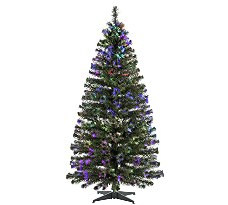Green Fibre Optic Christmas Tree - 6ft - Green Fibre Optic Christmas Tree - 6ft: Amazon.co.uk: Kitchen & Home