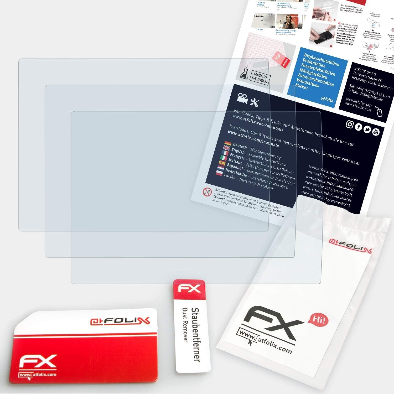 atFoliX Schutzfolie kompatibel mit Olympus TG-5 Panzerfolie ultraklare und sto/ßd/ämpfende FX Folie 3X