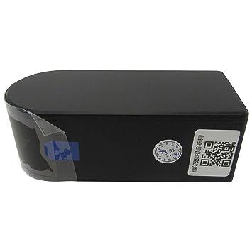 Cámara pequeña negra con wifi con 180 grados de amplitud de visión, giratoria por control