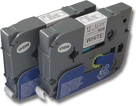 original vhbw© Schriftband Tape 12mm S-T für BROTHER P-Touch 7100 7100VP