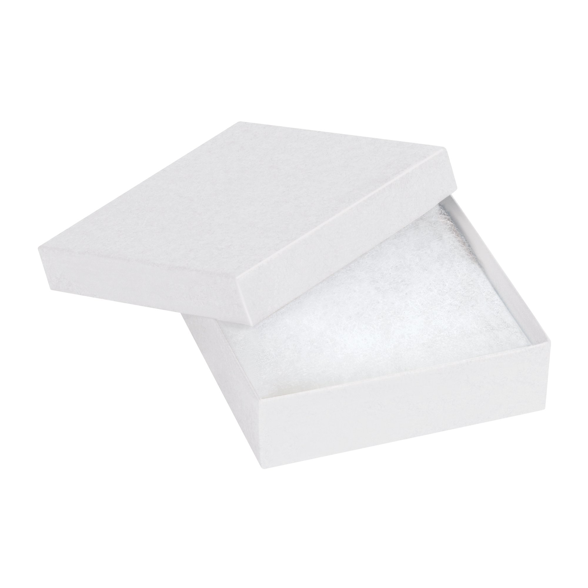 Boxes Fast BFJB331W Jewelry boxes, Load Capacity, 3.5'' Length, 3.5'' width, 1'' Thick,, White ( 00)