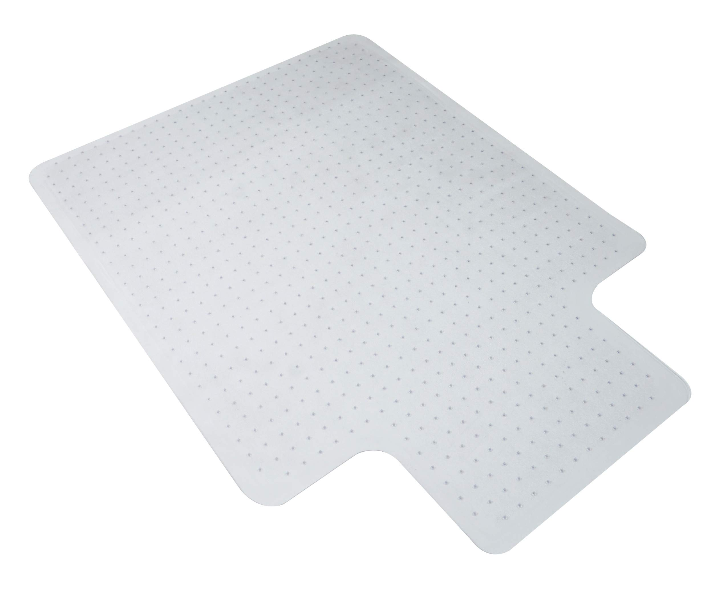 """OFM ESS Collection Chair Mat with Lip for Carpet, 36"""" x 48"""", Clear"""