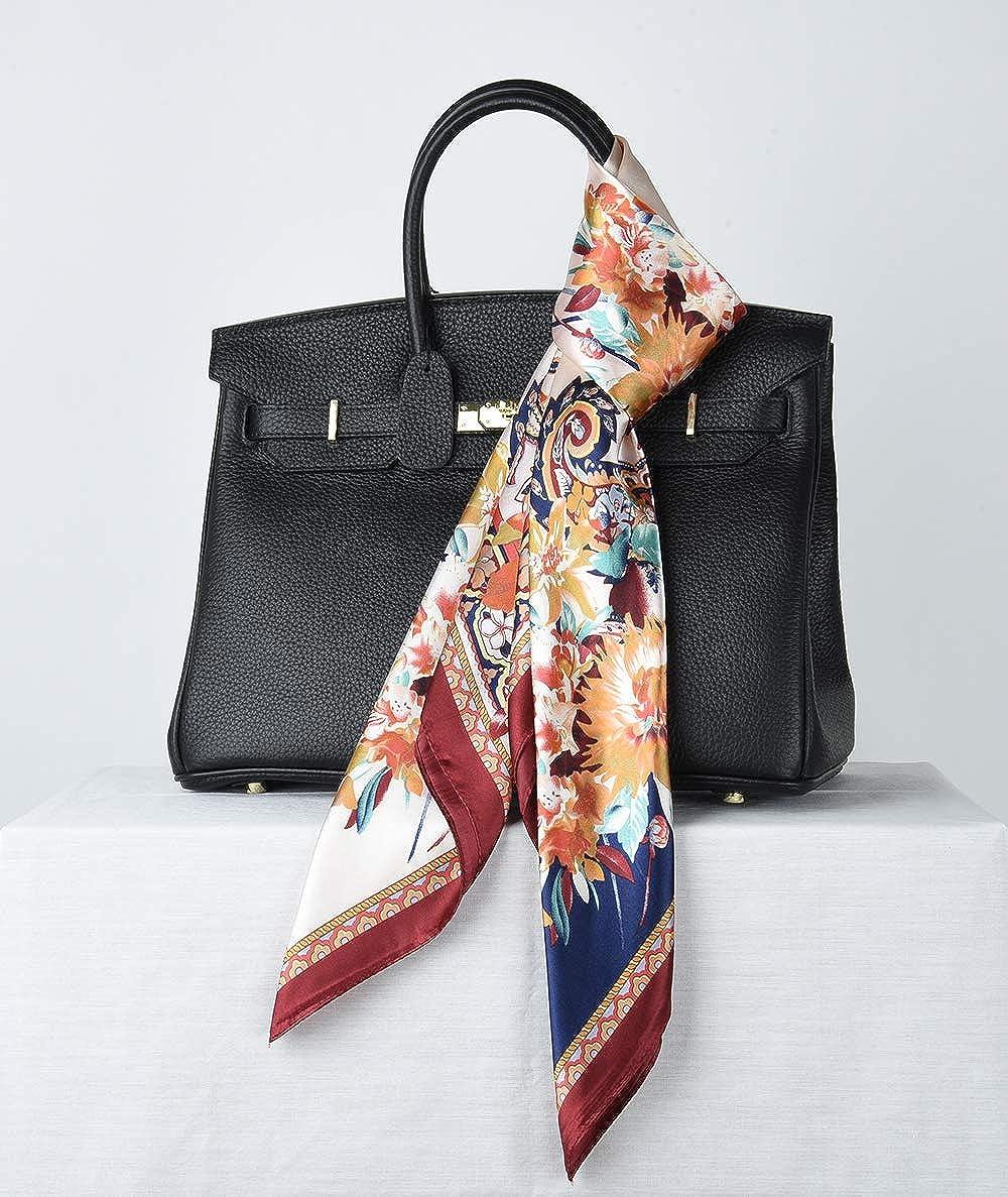 88,9 x 88,9 cm corciova Sciarpa da donna con stampa alla moda