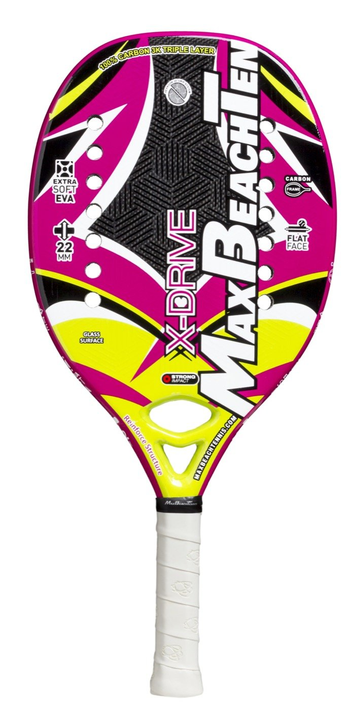 Pala de Tenis Playa MBT X-DRIVE 2018 Pala de Tenis Playa MBT X-DRIVE 2018: Amazon.es: Deportes y aire libre
