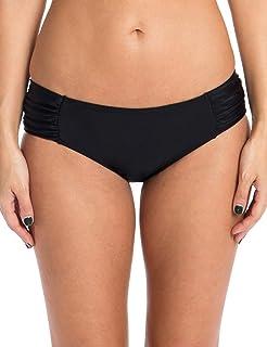 e59b92d1aa Amazon.com: Ocean Blues Women's Scallop High Neck Bikini Top Large ...