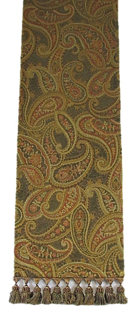 Corona Decor Paisley Table Runner