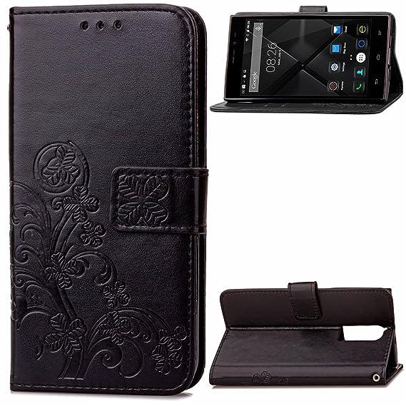 the latest 5c11e f4cb3 Amazon.com: Doogee F5 Case, FugouSell Premium Pu Leather Protective ...
