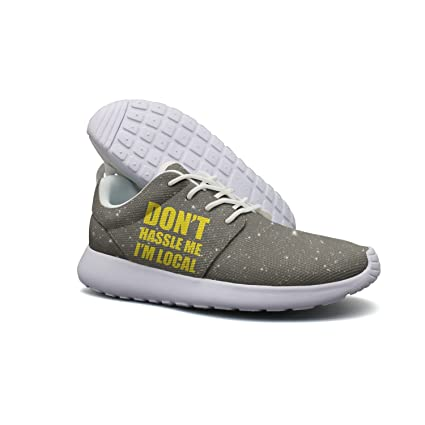 Don't Hassle Me I'm Local Lightweight Breathable Casual Sports Shoes Fashion Sneakers Shoes