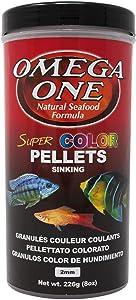 Omega One Super Color Sinking Pellets, 2mm Pellets