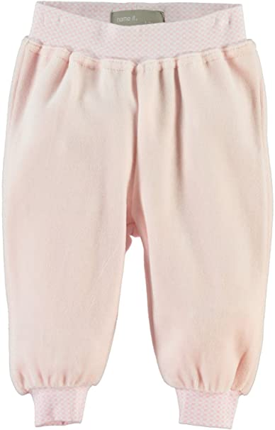 NAME IT Newborn Baby Dawn Velour Baggy Pants M/ädchen Hose