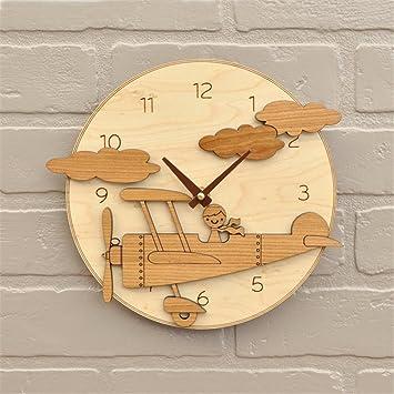 Werlm Personalisiertes Design Home Dekorative Wanduhr Kunst Uhr Holz
