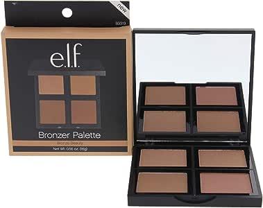 e.l.f. Studio Bronzer Palette - 4 Gorgeous Shades: Amazon.es: Salud y cuidado personal