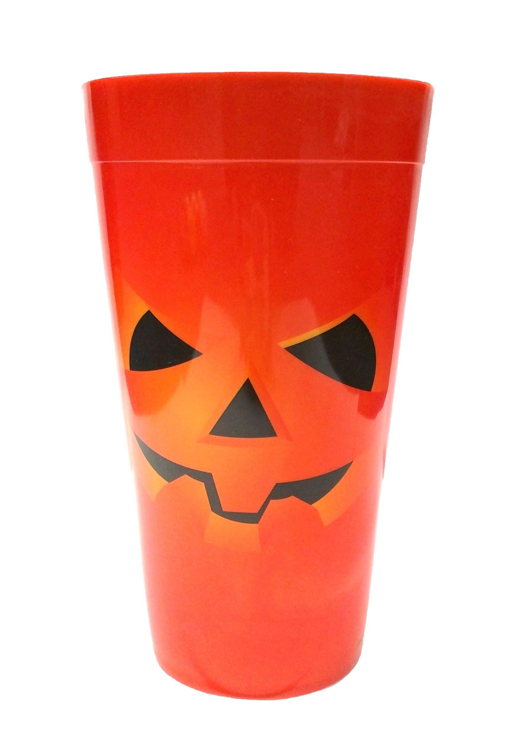 Orange Pumpkin Party Cup Standard
