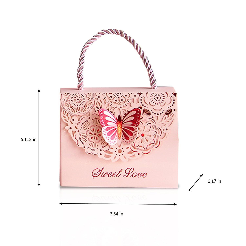 Amazon.com: Finex 100 pcs Premium Korean Wedding Design Party Favors ...