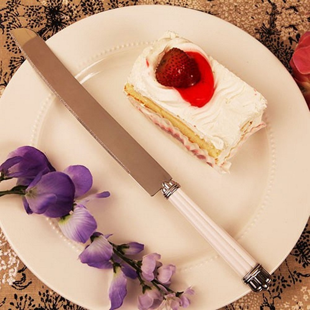 Pearl Cake Knife - Set of 96 by R & B
