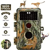 BlazeVideo Game Camera & Deer Hunting Trail Cam with Night Vision 16MP 1080P Video No Flash 940nm Infrared Waterproof with Motion Activated Wildlife Tracking & Home Security Photo & Video Model