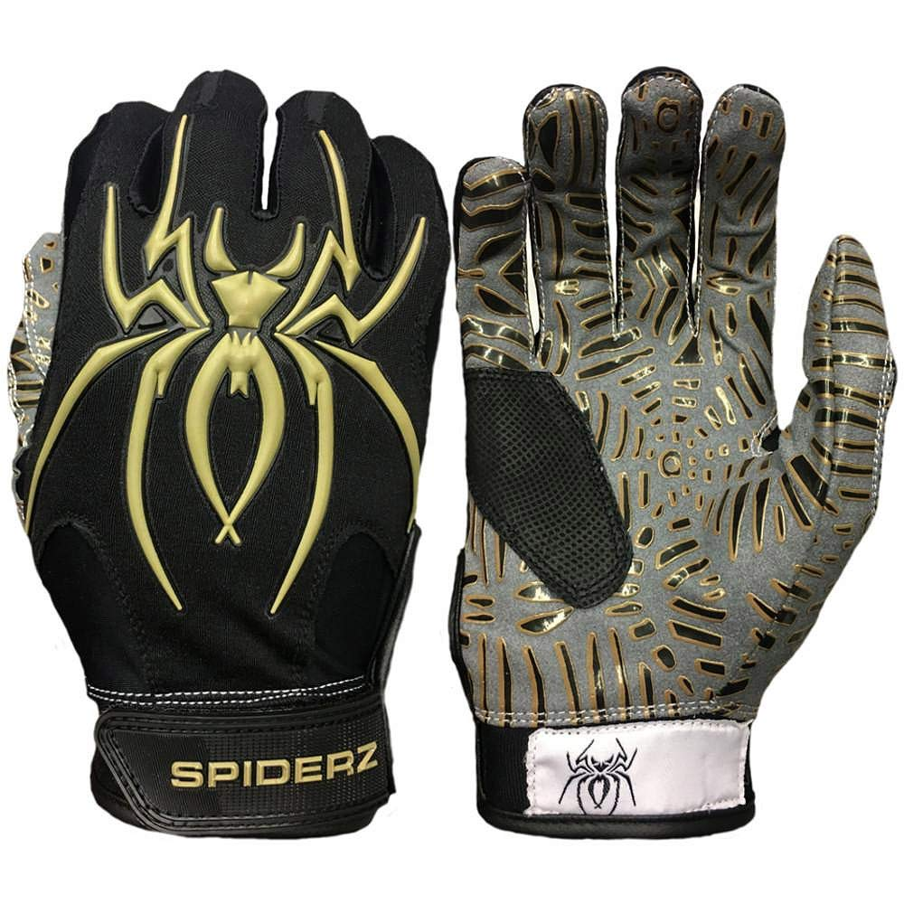Spiderz Hybrid Tac Palm Adult Baseball Softball Batting Gloves