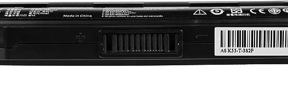 Green Cell/® A32-K55 Laptop Akku f/ür Asus F55 F55A F55C F75 F75A F75V F75VB F75VC F75VD R704 R704A R704V R704VB R704VC R704VD Ultra - Panasonic Zellen 6800 mAh
