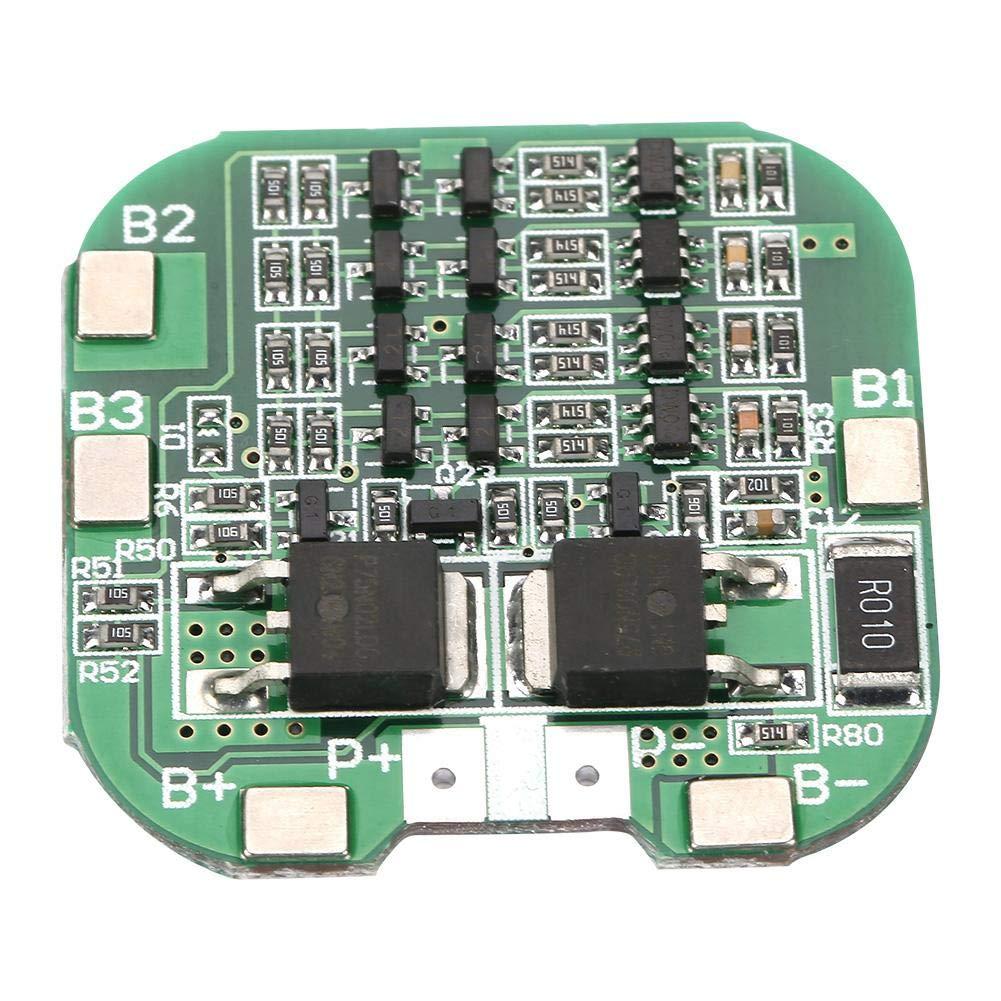 4S 10A Lithium-Batterie-Schutzplatine Li-Ion-Zelle BMS-Platine Akozon Lithium-Batterie-Schutzplatine