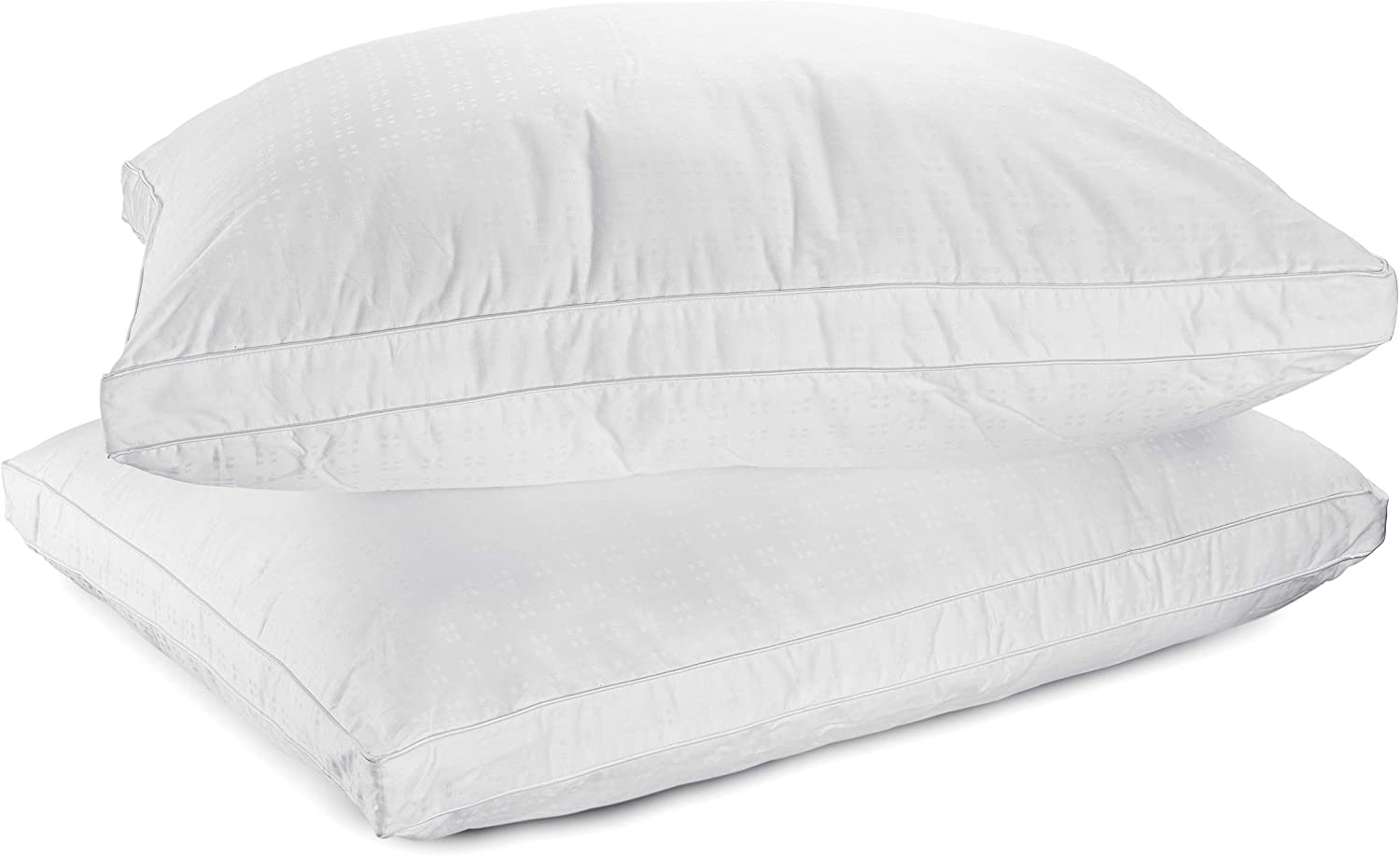 100% Cotton Mastertex Down Alternative Bed Pillows for side sleepers review. Best pillow for allergic person.