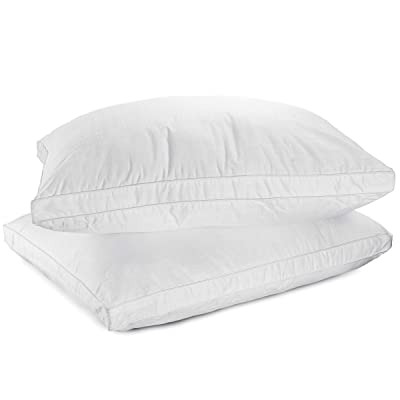 Down Alternative Pillow – 100% Cotton Fabric Bed Pillow