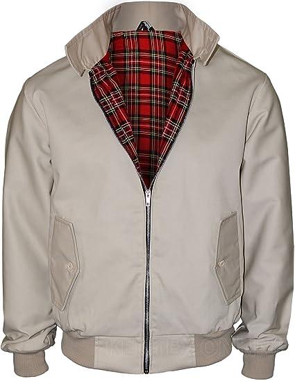 96f9e4db3 Kentex Online Men's Harrington UK Sizes Retro Smart Classic Jacket
