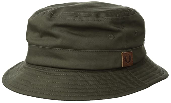 9b3e84ea6d3 Fred Perry Classic Bucket Hat in Iris Leaf  Amazon.co.uk  Clothing