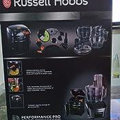 Russell Hobbs 22270-56 - Robot de cocina, 800 W, 3 velocidades y ...