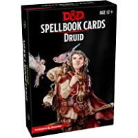 Dungeons & DragonsSpellbook Cards Druid: Level 1-9