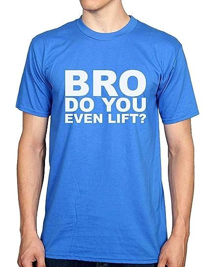 79c94a17 Bro Do You Even Lift? T-Shirt Red | Amazon.com