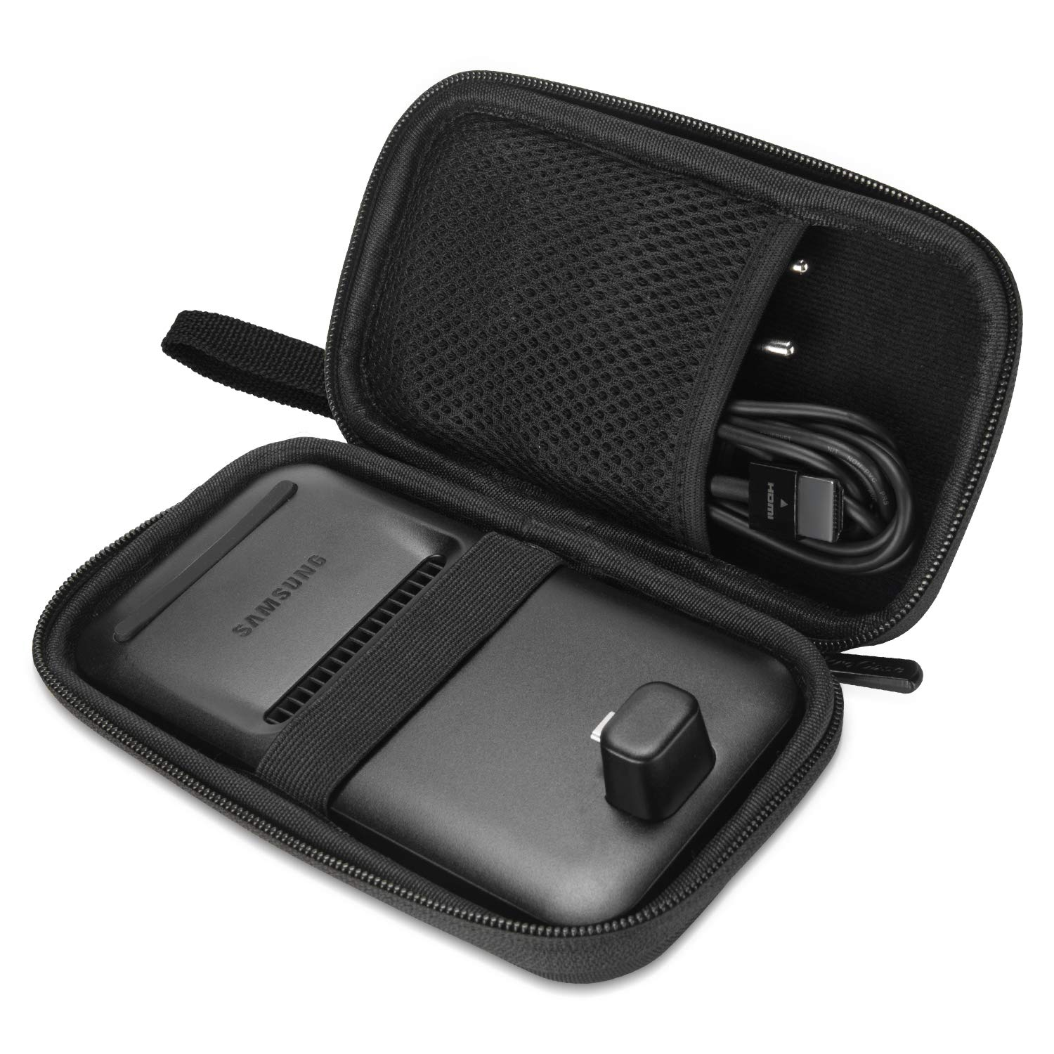 ProCase Carrying Case for DeX Pad, Durable Travel Case Storage Protective Box for DeX Pad Dock -Black