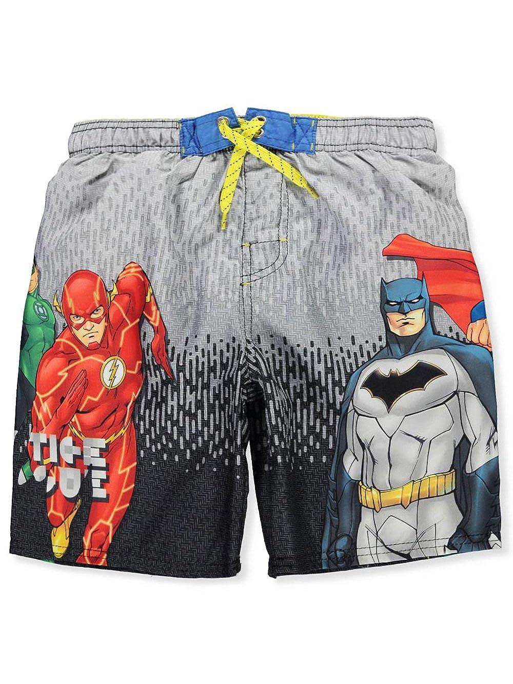 Justice League Boys' Boardshorts 8