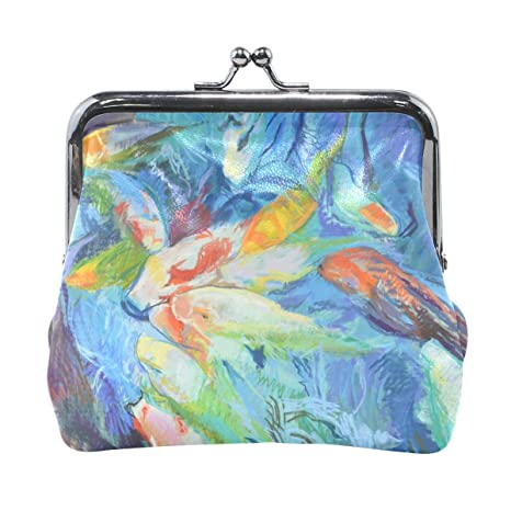 COOSUN Monedero Acuarela Peces PaintingLeather Moneda del ...