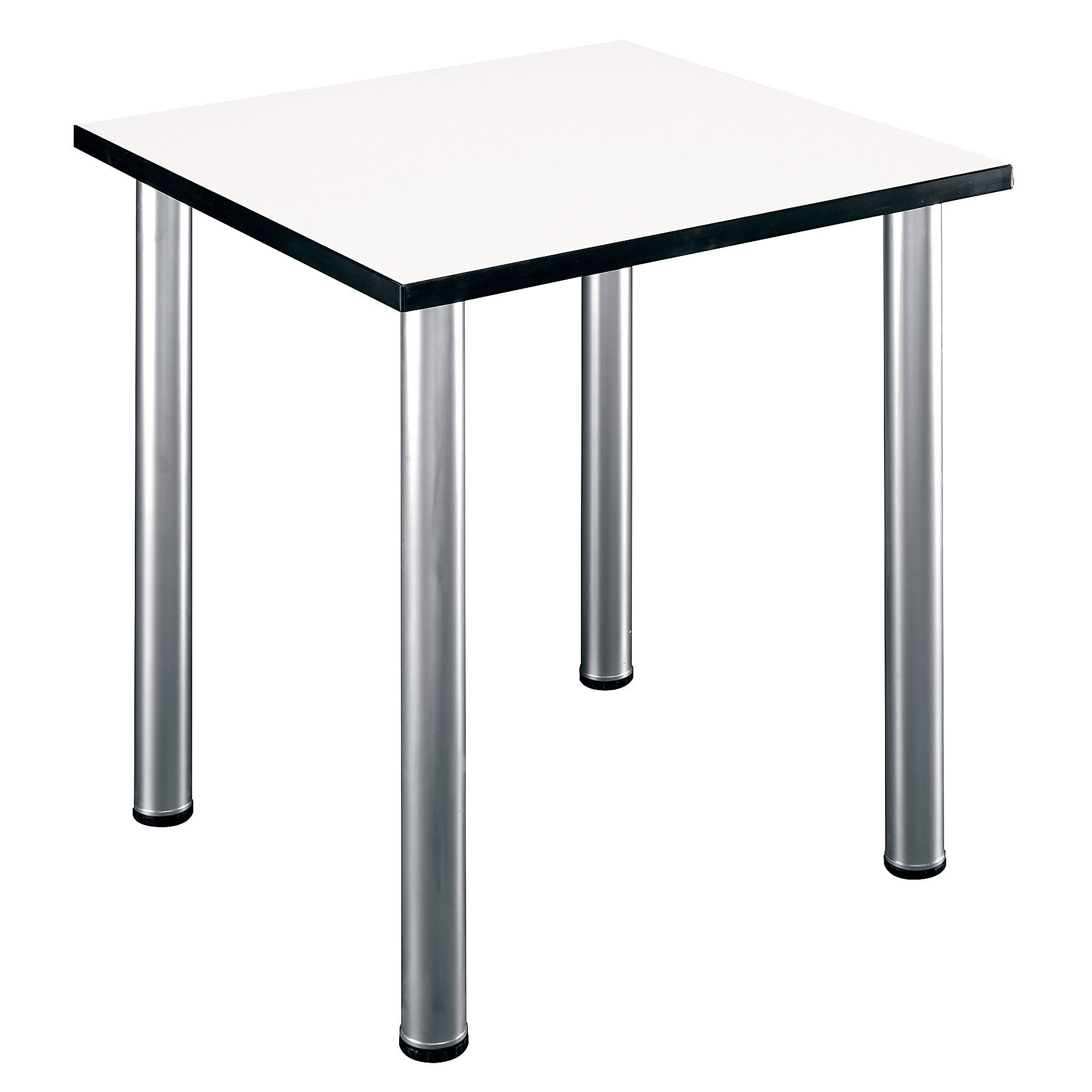 Bush Business Furniture Aspen Tables 28-1/2W Square Table in White Spectrum by Bush Business Furniture
