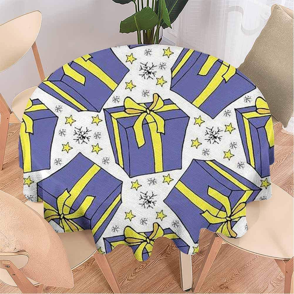 Cloth Tablecloths, Cane Lollipop in Vintage Style on a,Table Cloth for Dining Room 67 Inch Round