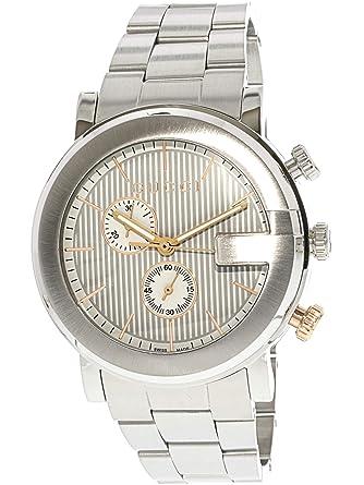 81be99553cb Image Unavailable. Image not available for. Color  Gucci Men s G  Chronograph Watch Quartz ...