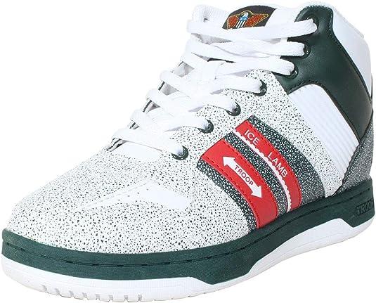 TROOP Ice Lamb Mid Sneakers