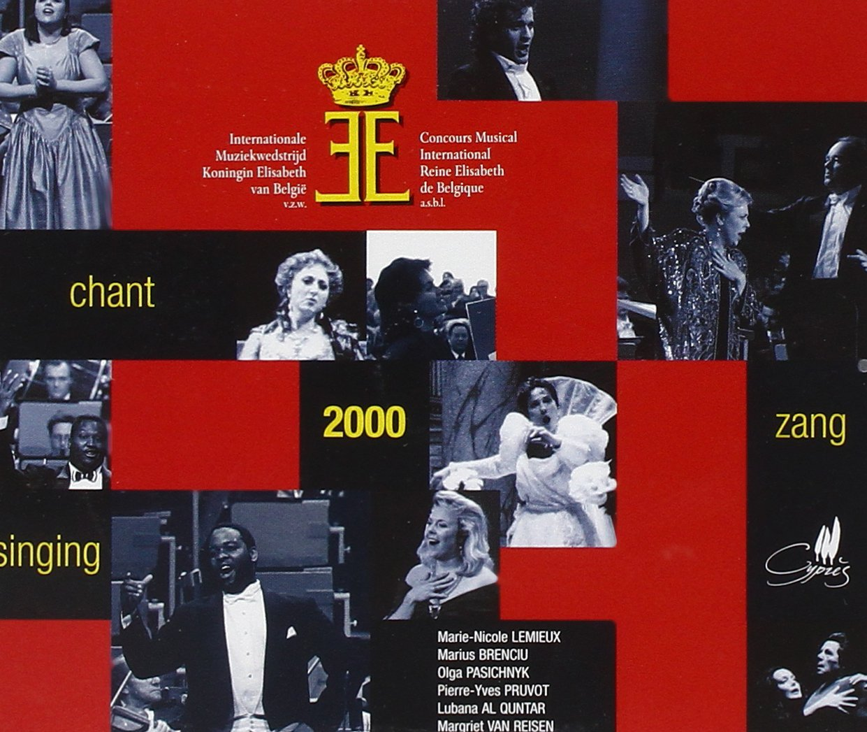 Queen Elizabeth Competition 2000: Singing by Cypres
