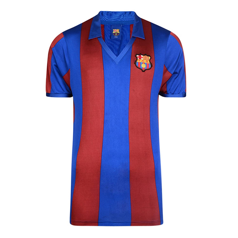 FCB FC Barcelona - Camiseta Oficial de FC Barcelona Retro 1982 para Hombre: Amazon.es: Ropa y accesorios