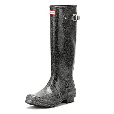 Hunter Bota WMN Org Starcloud Tall Black Multi Plata Mujer: Amazon.es: Zapatos y complementos