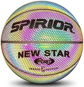 circulor Balon Baloncesto Interior - Balón De Baloncesto Luminoso ...