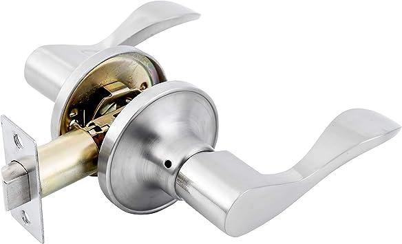SUMBIN Passage Handle Dock for Bedroom Home Door Lock,Right Handed,Satin Nickel Finish QB203333563SN