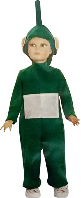 Verde Dipsy Teletubbies disfraz dibujos animados – tamaño 4 ° – 4 ...
