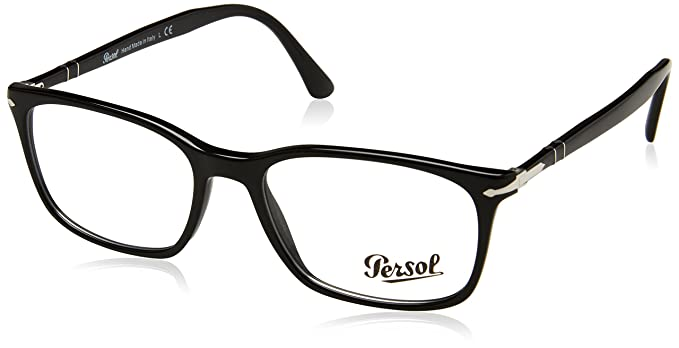 a5a3c6f806b1b Persol PO3189V Eyeglasses Black 53 at Amazon Men s Clothing store