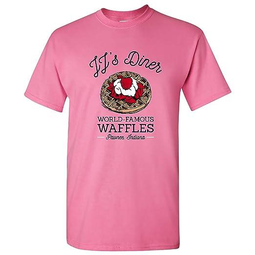 8a7fc81d9563f JJ's Diner - Leslie World's Best Waffles TV Show T Shirt