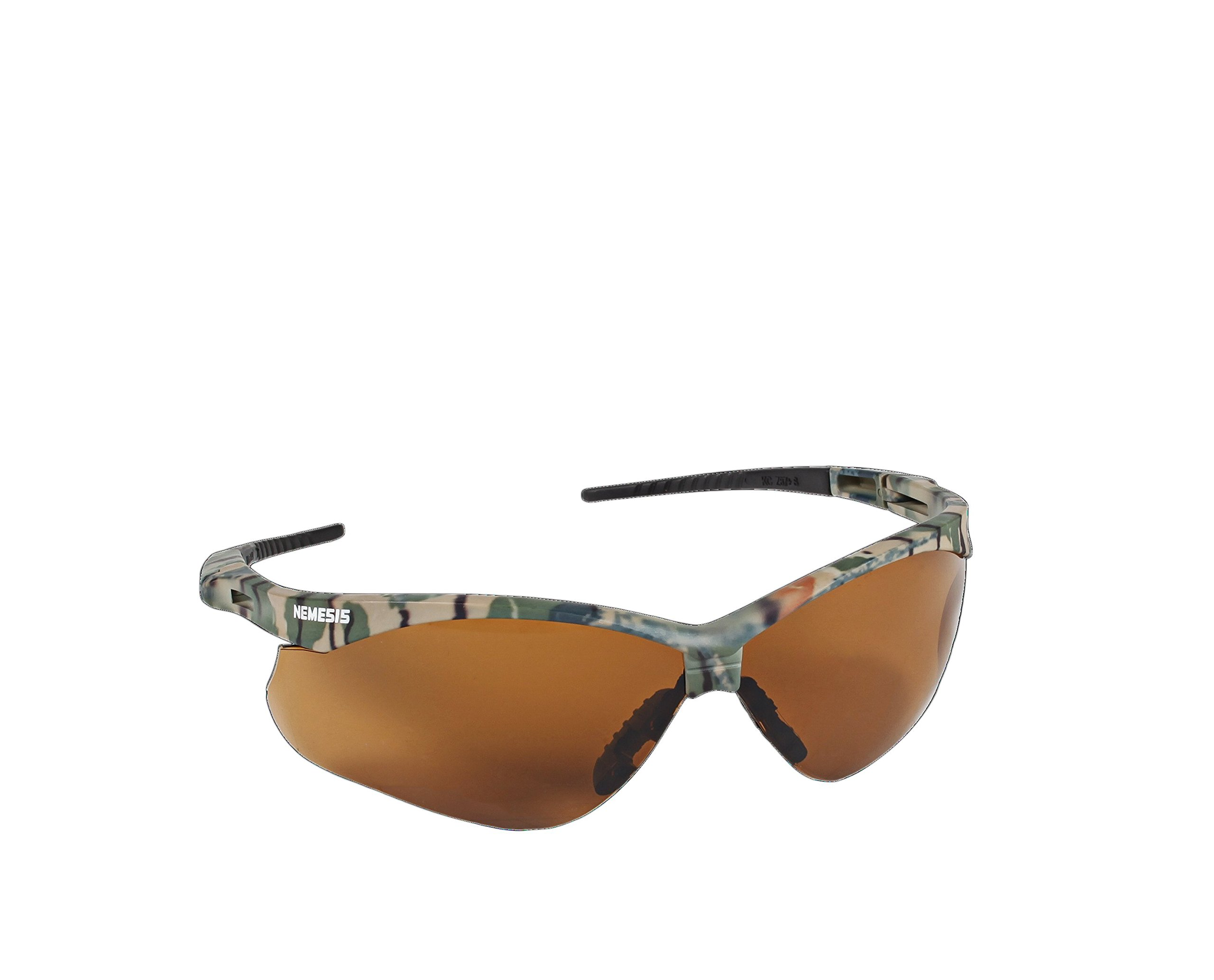 Jackson Safety 20386 V30 Nemesis CSA Safety Glasses, Bronze Lenses with Camo Frame (Pack of 12) by Jackson Safety