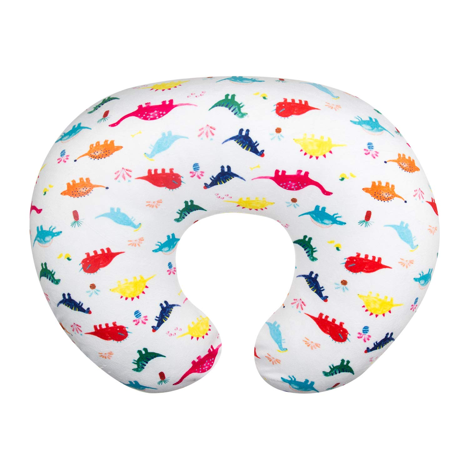 ALVABABY Nursing Pillow Cover Slipcover,100/% Organic Cotton,Soft and Comfortable,Feathers Design,Maternity Breastfeeding Newborn Infant Feeding Cushion Cover,Baby Shower Gift ZT-Z16