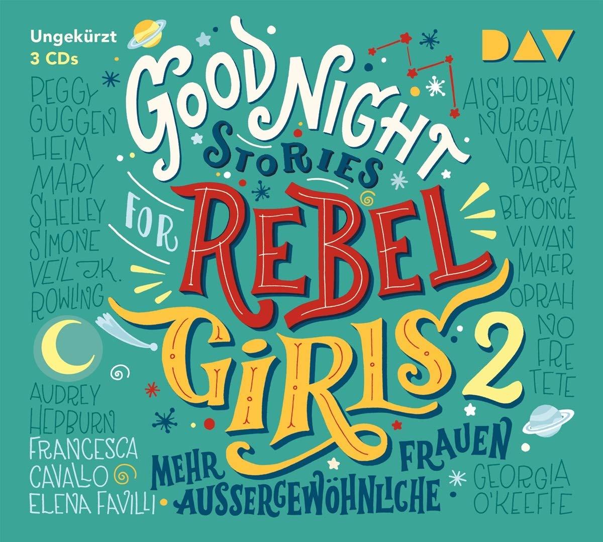 Good Night Stories for Rebel Girls - Teil 2: Mehr außergewöhnliche Frauen: Amazon.es: Favilli, Elena, Cavallo, Francesca, Berben, Iris, Kroymann, Maren, Kollmann, Birgitt: Libros en idiomas extranjeros